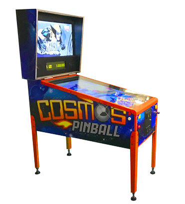 cosmos pinball side view